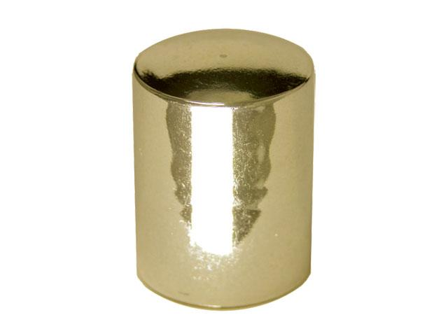 SNDR-22763-GOLD PLASTIC CAP, METALLIZED CLOSURE WITH A 24/415 FINISH, INCLUDES A FOAM LINER