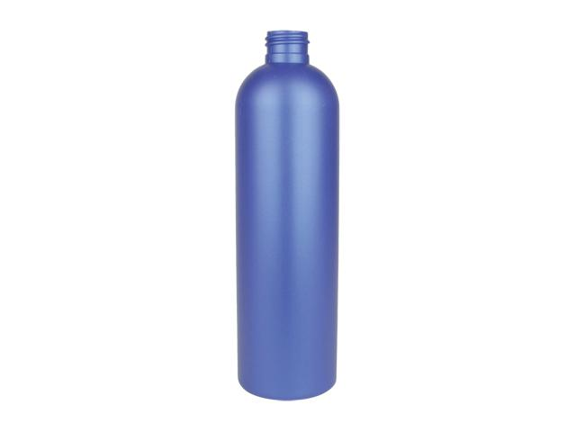 SNEP-25848-BLUE PLASTIC BOTTLES 12 OZ. LDPE BULLET WITH A 24/410 FINISH