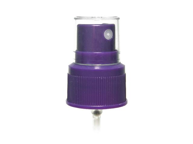 "SNHF-17160-PURPLE FINE MIST SPRAYER, 24/410 FINISH, SEAMIST, WITH A CLEAR HOOD AND A 6 1/4"" DIP TUBE"