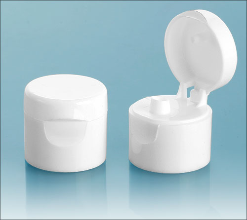SNDR-2511-14B-Smooth White Flip Top Dispensing Cap 24/410