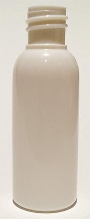 SNBPET30W18415-30ml White PET Boston Bottle with 18/415 Neck size