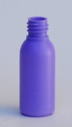 SNEP-30PHDPEB1815-30ml Purple HDPE Tall Boston Bottle with 18/415 Neck