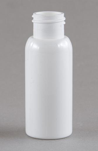 SNEP-50WPETB-50ml White PET Tall Boston Bottle 24mm 410 Finish