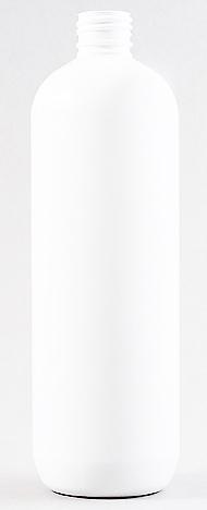SNEP-50991-500ml White PET Tall Boston Bottle 24mm 410 Finish-201mm tall, 62.5mm dia