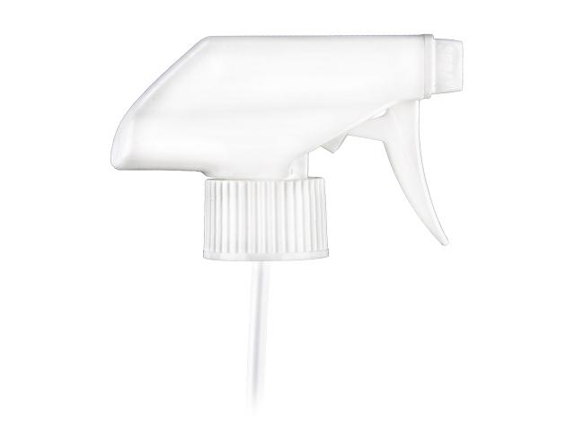 "SNHT-22225-WHITE TRIGGER SPRAYER, 28/410 FINISH, TS-800-1 ERGO SPRAY/STREAM/OFF WITH A 9 7/8"" DIP TUBE"