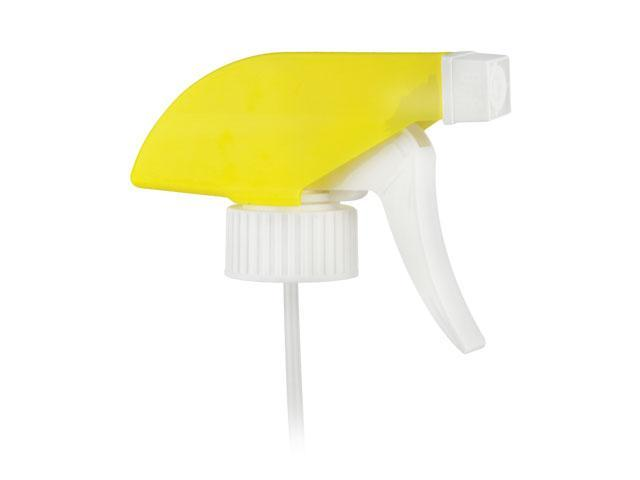 "SNHT-22632-YELLOW/WHITE TRIGGER SPRAYER, 28/400 FINISH, SPRAY/STREAM/OFF WITH A 9 1/2"" DIP TUBE"