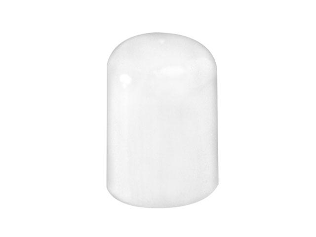 SNDR-25608-WHITE PLASTIC CAP, SMOOTH HIGH DOME STYLE CLOSURE WITH A 24/415 FINISH, PLUG SEAL