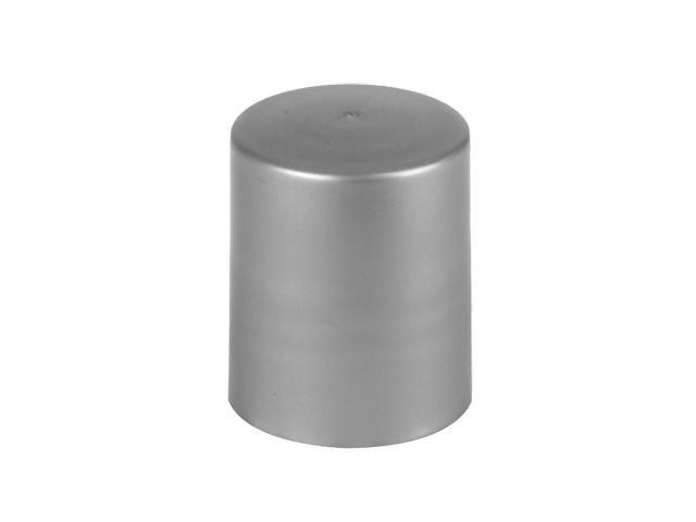 SNDR-28138-SILVER PLASTIC CAP, SMOOTH CLOSURE WITH A 20/415 FINISH, INCLUDES A PEFM FOAM LINER, MEDIUM EXTRA TALL