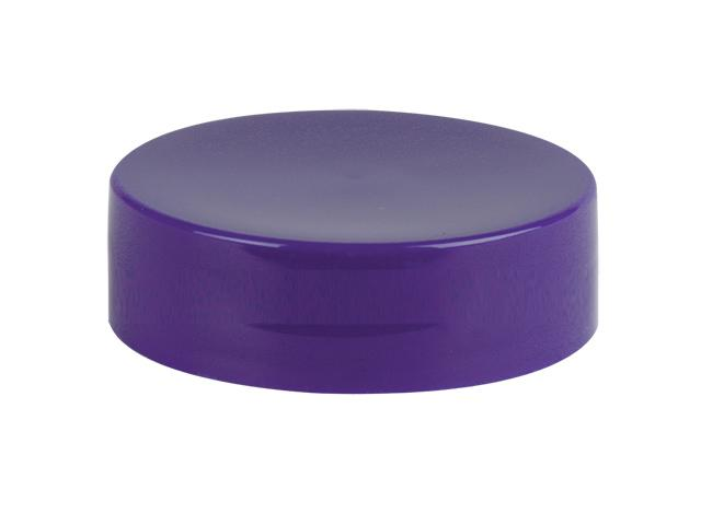 SNDR-32916-PURPLE PLASTIC Jar Lid, SMOOTH CLOSURE WITH A 70/400 FINISH, INCLUDES A FOAM LINER