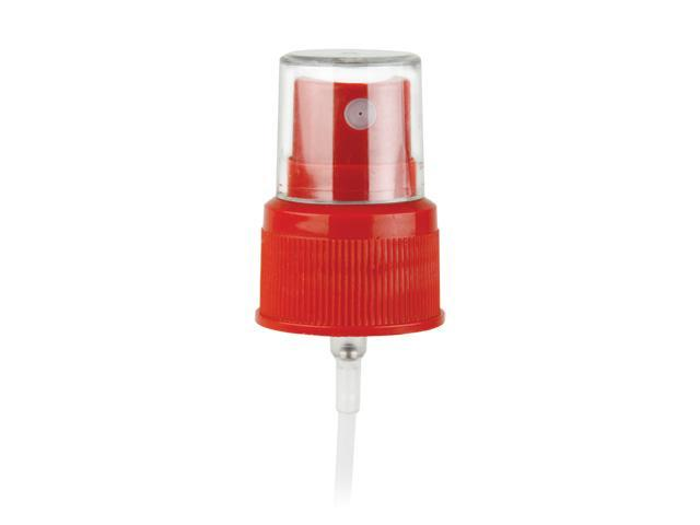 "SNHF-24178-FINE MIST SPRAYER-RED, 24/410 FINISH, SEAMIST, WITH A CLEAR HOOD AND A 6 1/8"" DIP TUBE"