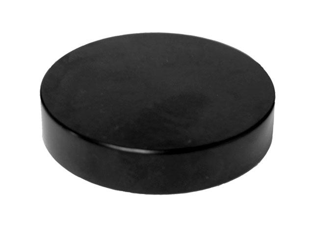 SNR-27110-SMOOTH FLAT ROUND CLOSURE WITH A 70/400 FINISH, LINER LESS Size: 70/400 Colour: Black