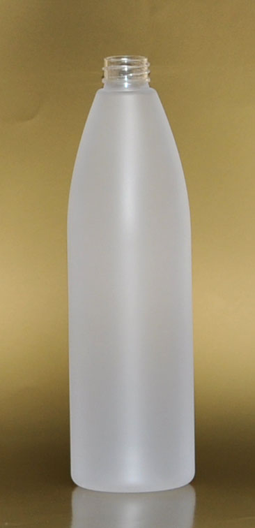 SNEP-28137-26Oz Natural HDPE Tapered Bullet Bottle with 28/410 Neck