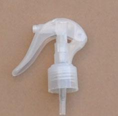 SNHT-33772-24/410 Swan Neck Finger Trigger Sprayer-Natural