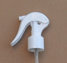 SNHT-77671-24/410 Swan Neck Finger Trigger Sprayer White