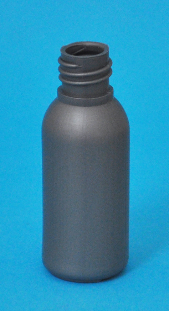 SNEP-30SHDPEB1815-30ml Silver HDPE Tall Boston Bottle with 18/415 Neck