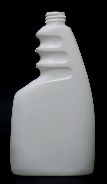 SNEP-500WTR-500ml White HDPE Trigger Spray Bottle 28mm 410 Finish (211mm tall x 111mm)