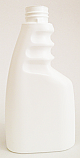 WTBHDPE250-250ml Trigger Bottle White HDPE-28/410 Neck