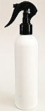SNSET-250WBHDPEBSNS-250ml White HDPE Boston Bottle with a 24/410 Black Swan Neck Sprayer