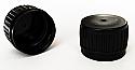 Tamper Evident Continuous Thread Cap 28/410-Black