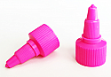 Hot Pink Plastic Twist Top Cap 20/410