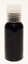 SNSET-1OZBBPETNDTL-1 Oz (~29ml) Black Boston PET Bottle with 20/410 Natural Disc Top Lid