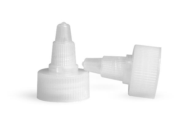 SNDD-2533-01-Natural LDPE Plastic Twist Top Cap 20/410