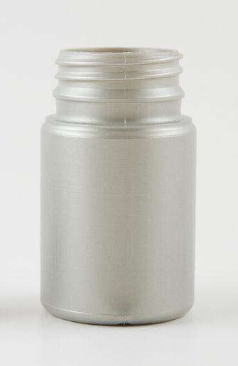 SNEP-75HDPESIL38-75ml Silver Pearl HDPE Tablet Bottle 38mm TamperTel Neck Finish
