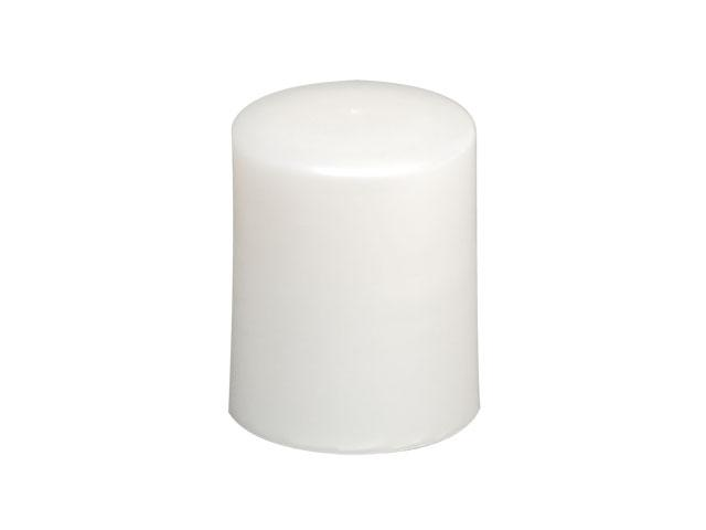 SNDR-26049-PEARL WHITE PLASTIC CAP, SMOOTH CLOSURE WITH A 20/415 FINISH, INCLUDES A PE FOAM LINER, MEDIUM EXTRA TALL