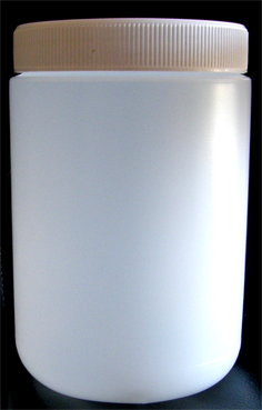 SNSET-1kg HDPE Natural Jar 1ith 95mm Lid
