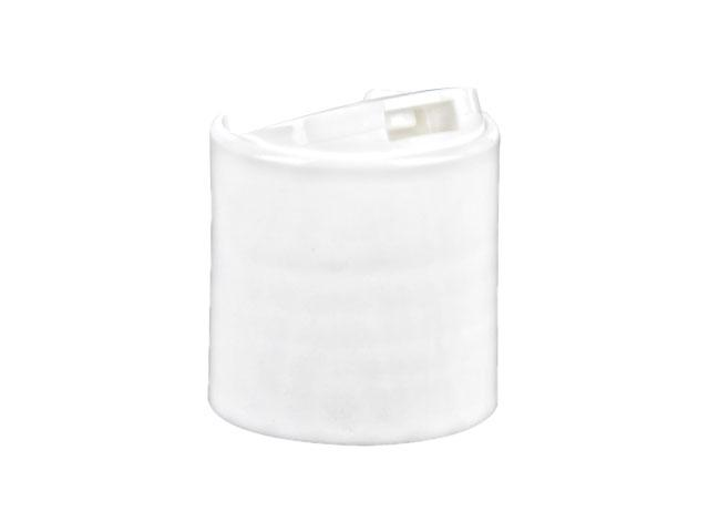 Disc Top Dispensing Cap SNDD-13200-WHITE DISPENSING CAP, SMOOTH DISC-TOP CLOSURE WITH A 24/410 FINISH AND A .308 ORIFICE