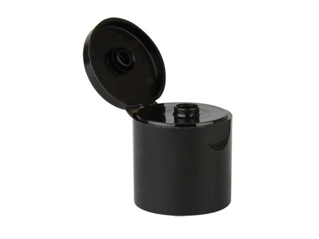 """SNDD-29983-DISPENSING CAP, SMOOTH SNAP-TOP CLOSURE WITH A 28/415 FINISH AND A .250"""" ORIFICE-BLACK"""