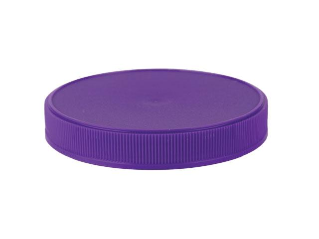 """SNDR-29785-PURPLE PLASTIC CAP, FINE RIBBED CLOSURE WITH AN 89/400 FINISH, INCLUDES A """"PLAIN"""" HEAT SEAL/ PULP LINER, STIPPLE TOP, STACKING RING"""