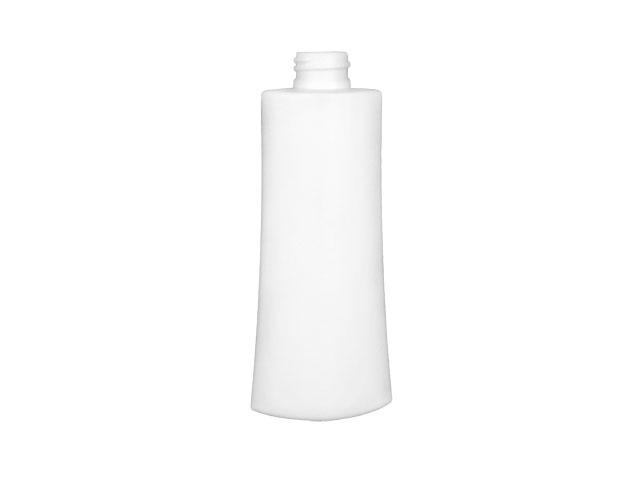 SNEP-25863-WHITE PLASTIC BOTTLE, 4 1/2 OZ. PET/HDPE TAPERED OCULAR OVAL WITH A 22/410 FINISH