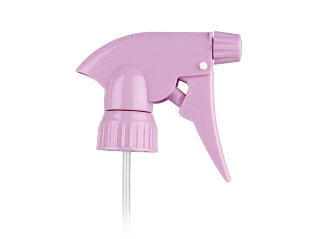 """SNHT-18661-TRIGGER SPRAYER, 28MM FINISH, ADJUSTABLE WITH A 5 1/8"""" DIP TUBE-LAVENDER"""