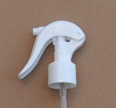 SNHT-77671-24/410 Swan Neck Finger Trigger Sprayer White