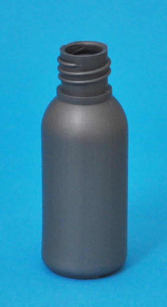 SNEP-30SHDPEB1815-30ml Silver HDPE Tall Boston Bottle with 18/415 Neck