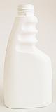 WTBHDPE250-250ml Trigger Bottle White HDPE-28/410 Neck
