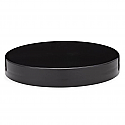 BLACKL SMOOTH FLAT ROUND CLOSURE WITH A 89/400 FINISH, LINER LESS